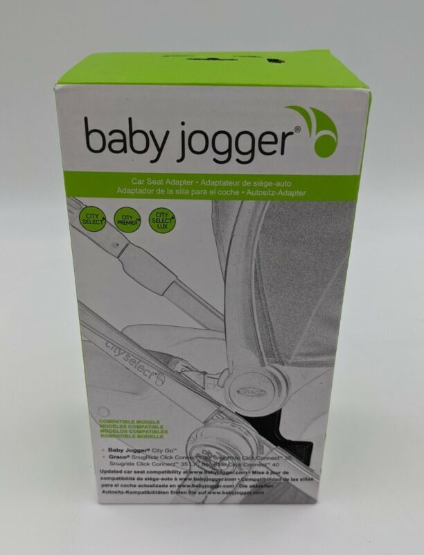 Baby Jogger Car Seat Adapter - Graco Click Connect & City GO - NEW/Free Ship!