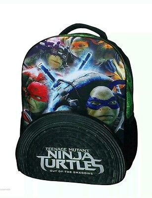 Teenage Mutant Ninja Turtle BACKPACK Out of the Shadows Movie Book Bag 16