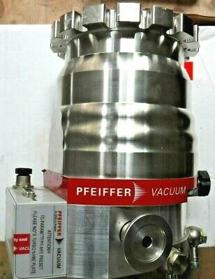 Pfeiffer Hipace Plus 300 Turbo Vacuum Pump Pm P03 989 W Tc 110 Controller