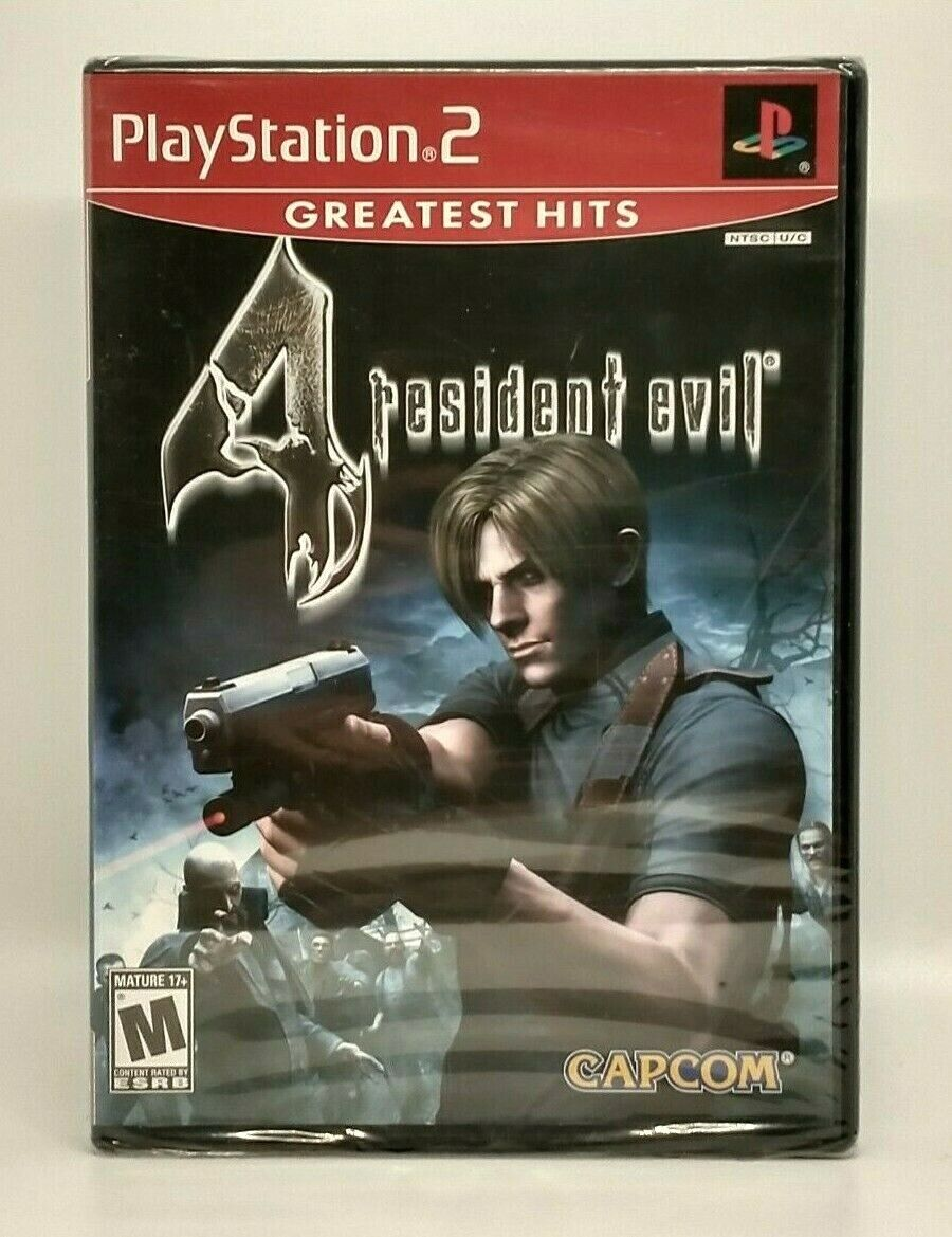 Resident Evil 4 Greatest Hits Sony PlayStation 2 PS2 Brand New, Factory Sealed - $24.99