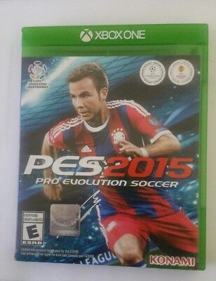 PES2015 - XBOX ONE GAME Tested Works Great. for sale  Shipping to Nigeria