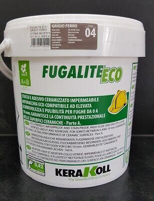 Fugalite Eco 3 kg Kera Koll grigio ferro/eisengrau....fliesen verfugen