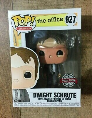 Funko Pop! The Office Dwight Schrute with CPR Mask #927 Special Edition