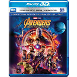 Avengers: Infinity War (Blu-ray 3D + Blu-ray) (Region Free) (NEW) [SHIPS NOW]