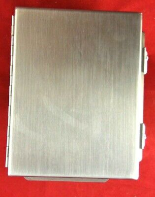New Hoffman A8064chnfss Stainless Steel Enclosure 8 L X 6 W X 4 D No Plate