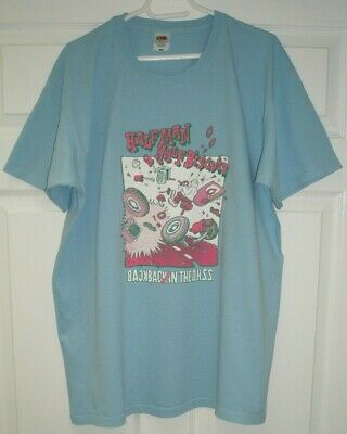 Half Man Half Biscuit Back in the DHSS Blue XL T-Shirt 46