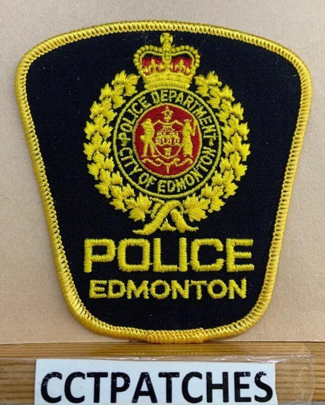 EDMONTON, CANADA POLICE (YELLOW) SHOULDER PATCH