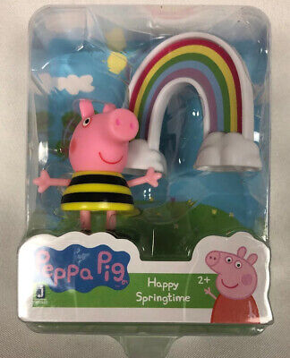 Peppa Pig Happy Springtime Mini Figure 2+ Collect And Play!