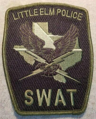 TX Little Elm Texas SWAT Police Patch