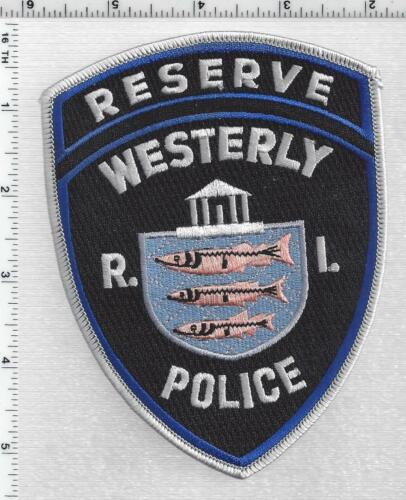 Westerly Police Reserve (Rhode Island) 1st Issue Shoulder Patch