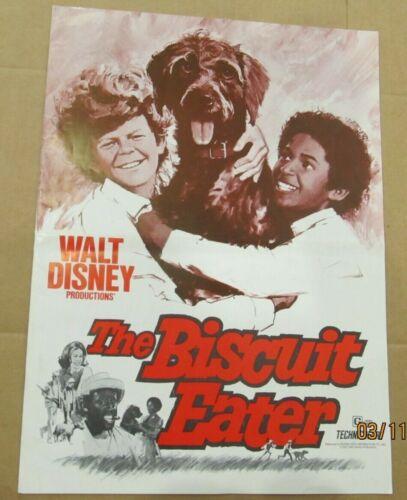 BISCUIT EATER ORIGINAL PRESSBOOK 1972 NO CUT OUTS GERMAN POINTER WALT DISNEY PRO