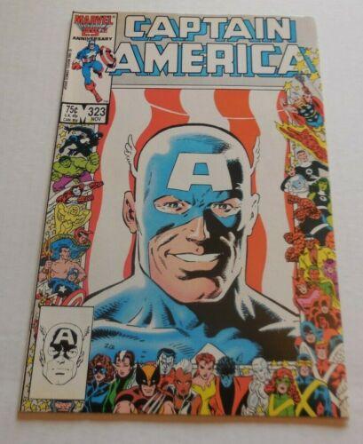 Captain America #323 VF+1st App John Walker & Lemar Hoskins - Lot of pix Disney+