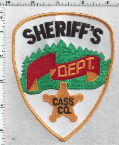 Cass County Sheriff (Minnesota) 2nd Issue Shoulder Patch