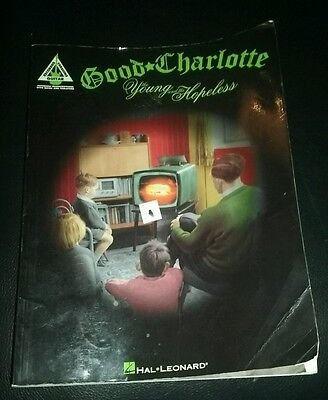 GOOD CHARLOTTE THE YOUNG AND THE HOPELESS GUITAR TAB SONG BOOK rare HAL LEONARD
