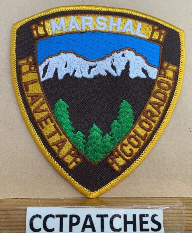LAVETA, COLORADO MARSHAL (POLICE) SHOULDER PATCH CO