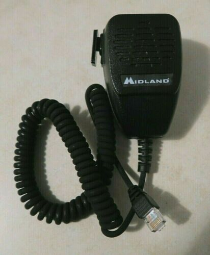 Midland ACC-4425 Heavy Duty Mobile Radio Microphone for STM Series P25
