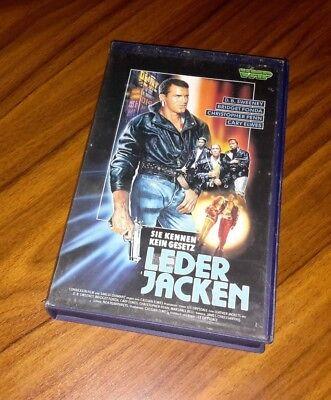 nnen kein Gesetz mit D.B. Sweeney, Bridget Fonda / VHS (Thriller Jacke Leder)