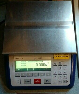 Mettler Toledo Viper Pt 3 Scale Viper - Precision Weighing 3kg 7.5lb