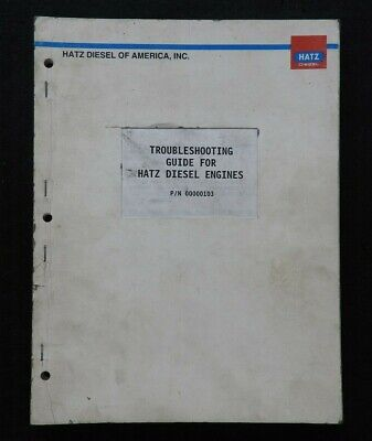 HATZ E671 E672 E673 1D30 1D40 1D60 1D80 L31 L40 M31 M40 2G30 2G40 ENGINE MANUAL