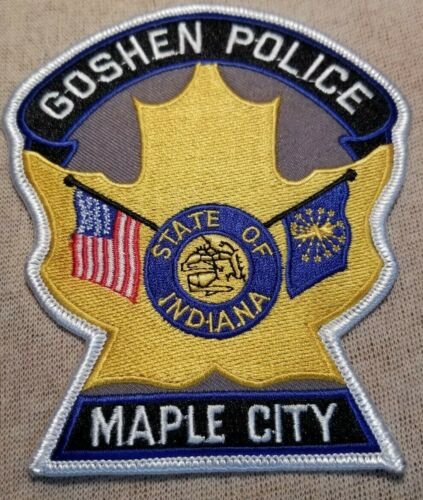 IN Goshen Indiana Police Patch