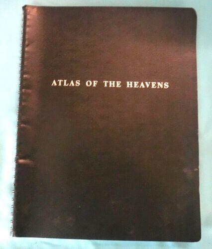 Vtg Skalnate Pleso ATLAS OF THE HEAVENS by Antonin Becvar Star Charts Astronomy