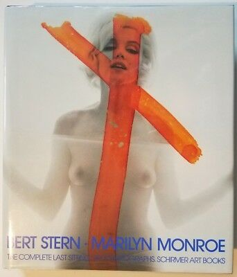 Marilyn Monroe - The Complete Last Sitting book signed by Bert Stern (Bert Stern Marilyn Monroe The Complete Last Sitting)