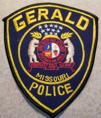 MO Gerald Missouri Police Patch