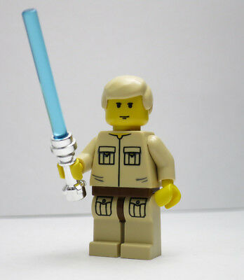 Luke Skywalker Cloud City 10123 Lightsaber Star Wars Lego Minifigure mini Figure - Luke Skywalker Child