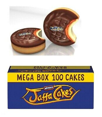 McVities Jaffa Cakes Whole Box or Jaffa Shaped Tin to Share This Christmas  ()