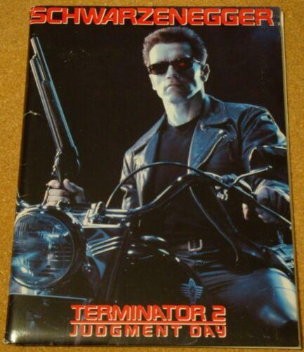 TERMINATOR 2 - Schwarzenegger - rare 1991 US press kit, inc stills/photos