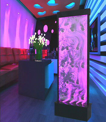 NEW Full Color LED Bubble Wall Panel Water Fountain Restaurant Lighting