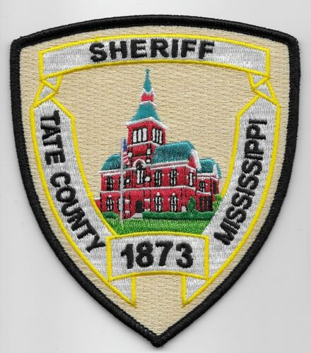Tate county Sheriff State Mississippi MS colorful NEW