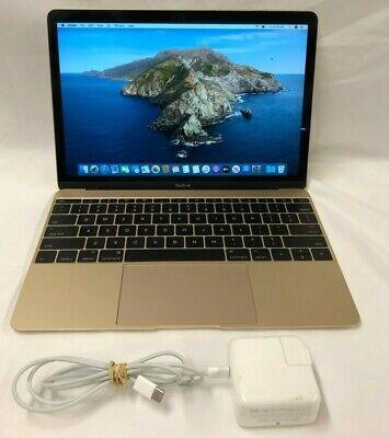 MacBook A1534 (2015) Intel Core m-5Y31 1.1GHz 8GB 256GB SSD *READ* LPT-509