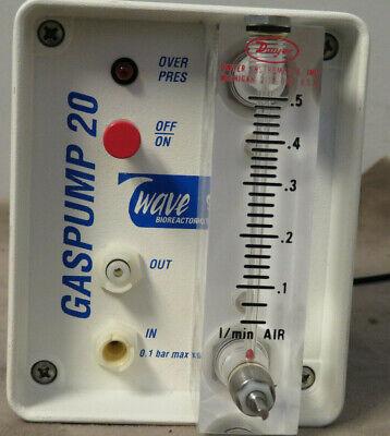 Wave Biotechgas Pump 20bioreactor System Missing Knob To Adjust Air Flow-used
