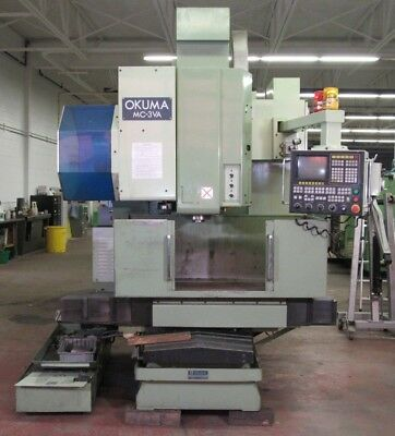 1986 Okuma Mc-3va Cnc Vertical Milling Center M-028