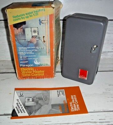 New AMF Paragon TC-604 Electric Water Heater Timer Control
