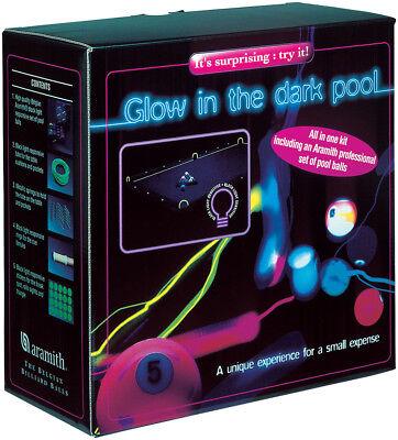 Glowing Pool Balls (Aramith Glow In The Dark Neon Standard Size 2 1/4