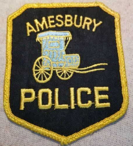 MA Amesbury Massachusetts Police Patch