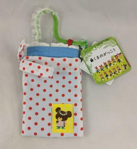 """Sekiguchi Monchhichi Bebichhichi Cloth Bag Tote 5.5"""""""
