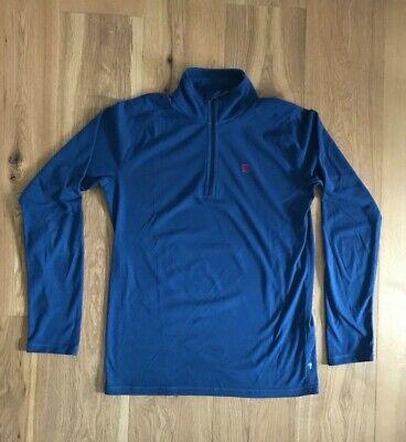 Fjällräven PINE HALF ZIP M, Fleece-Pullover, blau, Größe M