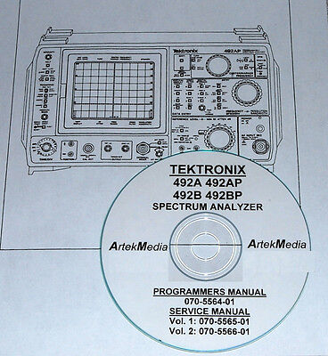 Tek 492a 492ap 492b 492bp Programming Service Manuals