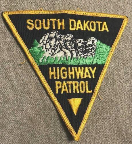 "vintage ""SOUTH DAKOTA HIGHWAY PATROL"" PATCH sd LAW ENFORCEMENT OFFICER police"