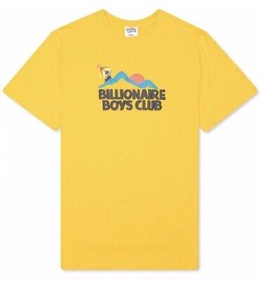 BILLIONAIRE BOYS BB ELEVATION SS TEE - 801-8202 - SPECTRA YELLOW T SHIRT - LARGE