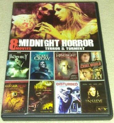 8-Film Midnight Horror Collection V.10 DVD *HORROR *HALLOWEEN