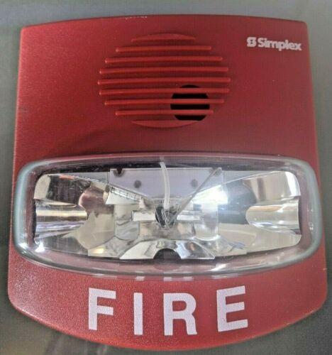 Simplex 4903-9419 Non-Addressable - Red Fire Alarm Strobe - FREE FAST SHIPPING!