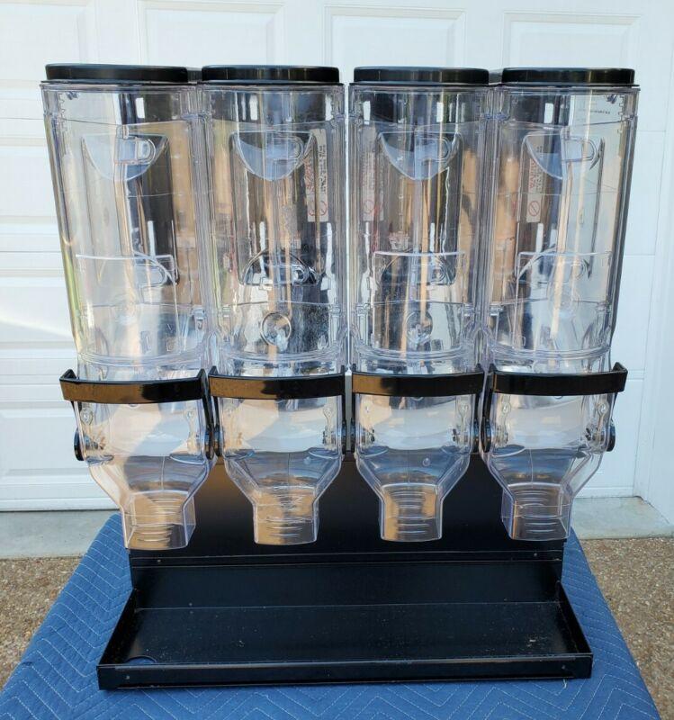 Food Storage Container Gravity Bin - Trade Fixtures Model # 6108 w/ SHELF