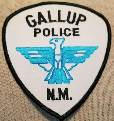 NM Gallup New Mexico Police Patch