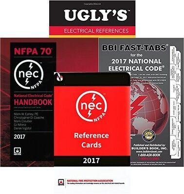 NFPA 70: National Electrical Code (NEC) Handbook Package (HBFTURRC) 2017 Edition