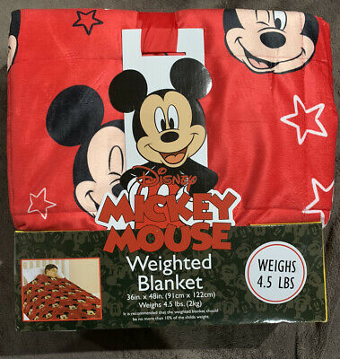 Disney Licensed Calming Weighted Blanket - Mickey Mouse