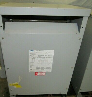 Cutler Hammer Dry Type Distribution Transformer V48m28t30 480 Delta 208y120
